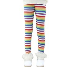 Children Pants Autumn Thick Warm Leggings Girls Pants Plus velvet winter girl leggings