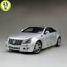 1/18 Kyosho G005S GM Cadillac CTS Coupe Diecast Model Car Silver(China)