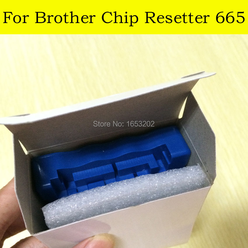 1 PC QE665 Chip Resetter For Brother LC223 LC225 LC227 LC229 For Brother DCP-J4120DW MFC-J4420DW J4620DW J4625DW Printer<br><br>Aliexpress