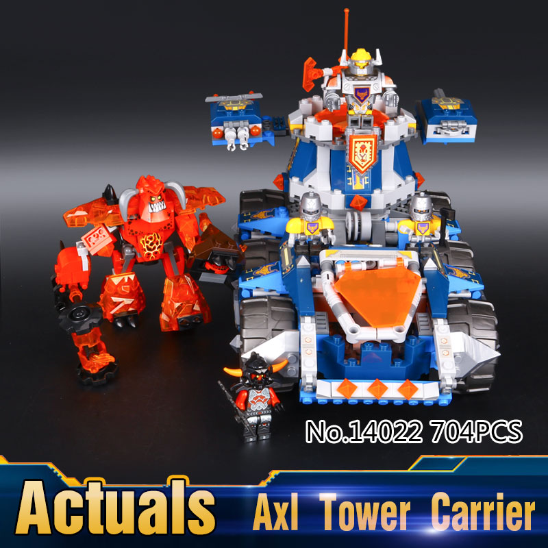 2017 New LEPIN 14022 704Pcs  Axls Tower Carrier Model Building Kits Blocks Bricks Toys Compatible Gift<br><br>Aliexpress