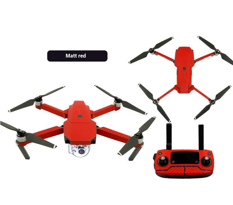 DJI Mavic Pro skin RC Drone FPV carbon fiber sticker waterproof body+remote controller protective sticker skin spare parts<br><br>Aliexpress