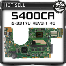 S400CA Laptop Motherboad For ASUS S500C S400C S500CA Original Mainboard 60NB0060-MBF000 69N0NUM1EA00 with i5-3317U Tested Well(China)