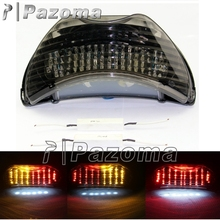 Smoke Integrated Tail Brake Light Motorcycle LED Running Rear Light With Turn Signals For Honda CBR 600 F4 F4i CBR 900 RR 1999