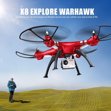 Newest Syma X8HG with camera HD 1080P Professional RC Drone Big Quadcopter RC Helicopter Syma X8 X8G X8C X8W(China)