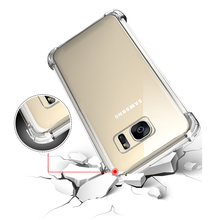 Protective Shell Cover Case For Samsung Galaxy a5 2017 Anti shock clear crystal TPU Soft Silicone Cases Cover For SamsungA5 2017