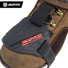 Scoyco Stronger Rubber Motorcycle Gear Shifter Shoe Boots Protector Shift Sock Motorbike Boot Cover Protective Gear Shift Pad
