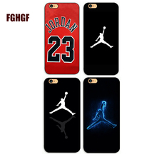 New Arrival Sky Nba Marca Michael Jordan Del Hard PC Phone Cover For iphone 4 4s 5 5s 5c se 6 6s plus 7 7plus 8 8PLUS X(China)