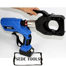 Battery powered hydraulic cable cutter for dia 85mm Cu/Al Cable and armoured cable EZ-85