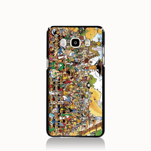 13046 asterix puzzle cell phone case cover for Samsung Galaxy J1 ACE J5 2015 J7 N9150