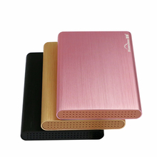 2pcs/lot 2 5'' hdd 3.0 cases usb ssd sata III usb hdd enclosure high speed 6gbps case aluminum boxes use for 1 tb hard disk