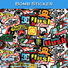 HD-099 High Definition Car Wrap Vinyl High Quality Bomb Adhesive Sticker PVC(China)