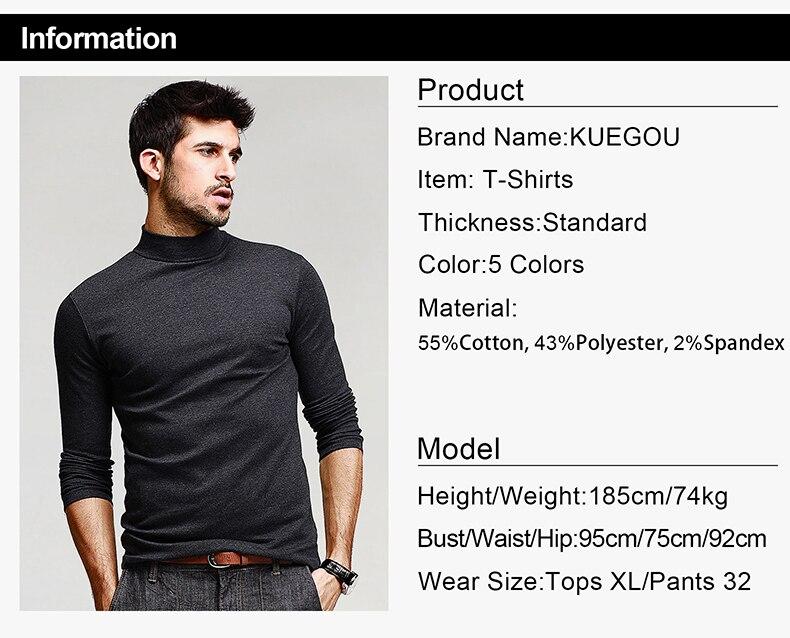 HTB1uWB2SpXXXXX1XXXXq6xXFXXXm - KUEGOU Mens Casual T Shirts 5 Solid Color Brand Clothing For Man's Long Sleeve Slim T-Shirts Male Wear Plus Size Tops Tees 803