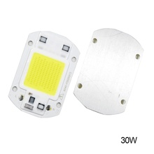 20W 30W 50W LED Chip 110V 221V LED COB Bulb Chip Input IP65 Smart IC Fit For DIY LED Flood Light LED Modules(China)