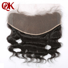 "Brazilian Virgin Hair Piece 10-20"" Lace Frontal Closure 13x6"" Bleached Knots French Lace Frontal Closure Brazilian Body Wave"