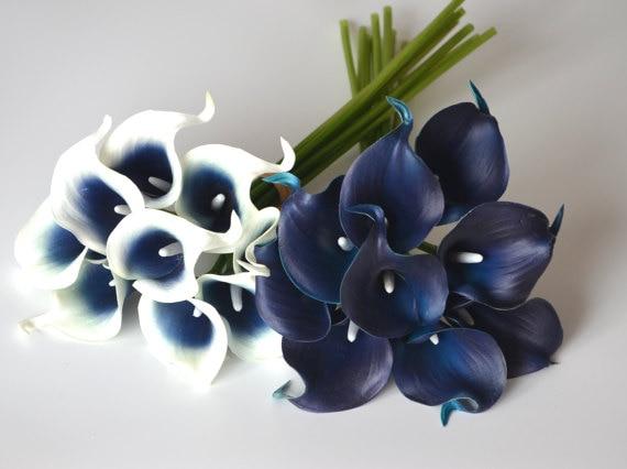 blue calla lilies promotion shop for promotional blue calla lilies on. Black Bedroom Furniture Sets. Home Design Ideas