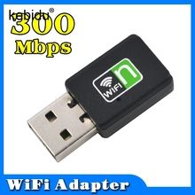 Kebidu 300Mbps Ultra Mini Wireless Network Card USB 2.0 Router wifi Adapter Wifi Signal Receiver WI-FI Sender Internet for PC(China)
