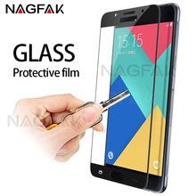 Buy NAGFAK Full Cover 9H Screen Protector Samsung Galaxy A3 A5 A7 2016 Tempered Glass Samsung A5 A3 A7 2017 Protective film for $1.69 in AliExpress store