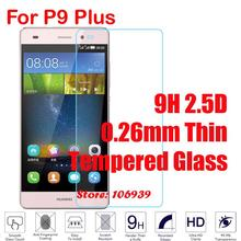 Cheap New 9H 2.5D 0.26mm Phone Accesories Accessories Screen Tempered Glass Protector For Huawei Ascend P9 Plus P9Plus