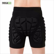 WOSAWE Professional Adults Hip Padded Protector Comfortable Sport Safety pads Wearing Protection Pants Butt Tailbone Protector(China)