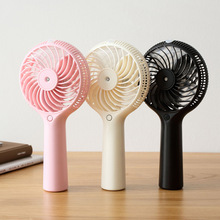 2016 Hot Mini Handheld Fan Humidifier USB Portable Water Mist Fan Humidifiers Home Office Air Purifer Originality Gift(China)