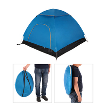 TOMSHOO Portable Automatic Pop Up Tent Beach Tent Outdoor Camping Tent Hiking Backpacking Sun Shelter for 2-3 Person with Bag
