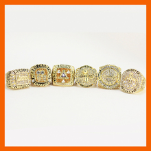 2000 2001 2002 2009 2010 2016 LOS ANGELES LAKERS WORLD CHAMPIONSHIP RING, 6 PCS RING SET COLLECTION(China)