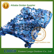LOOGU EM 4M*4M Blue Camo Netting Sea Ocean Camouflage Netting Ship Covering Tent Decoration Camouflage Net(China)