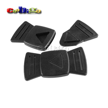 5pcs Pack 35mm Webbing Plastic Easy Release Insert Buckle For Art Deco Bags Backpack #FLC210-B(China)