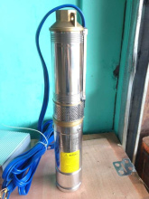 stainless steel solar submersible pump for irrigation, 48v dc brushless centrifugal solar water pump manufacture