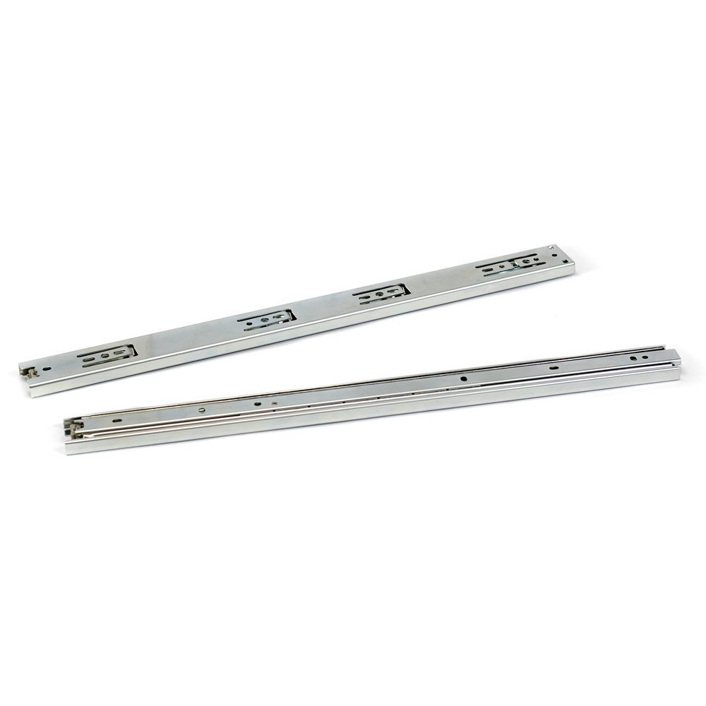 2 Pcs 10 3-fold Full Extension Ball Bearing Drawer Slides<br><br>Aliexpress