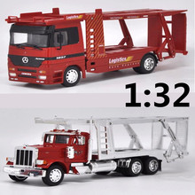 High simulation 1:32 Alloy engineering trailers,Kenworth trailer, r,truck Transporter,Advanced model,free shipping