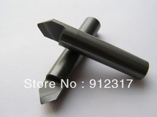 D6mm*L40*0.2*A70 Flat bottom Router Bits for Stone,PCD tools, Marble/Granite Engraving bits, Diamond End mills