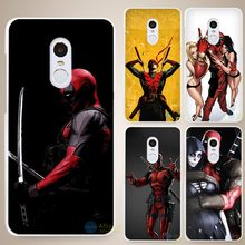 Buy movie knife deadpool Style Hard White Cell Phone Case Cover Xiaomi Mi Redmi Note 4 Pro 4A 4C 4X 5X 5 6 for $1.91 in AliExpress store