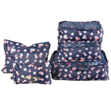 Travel Storage Bags Set Portable Tidy Suitcase Organizer Clothes Packing Home Closet Divider Container Bag 6PCs High Quality