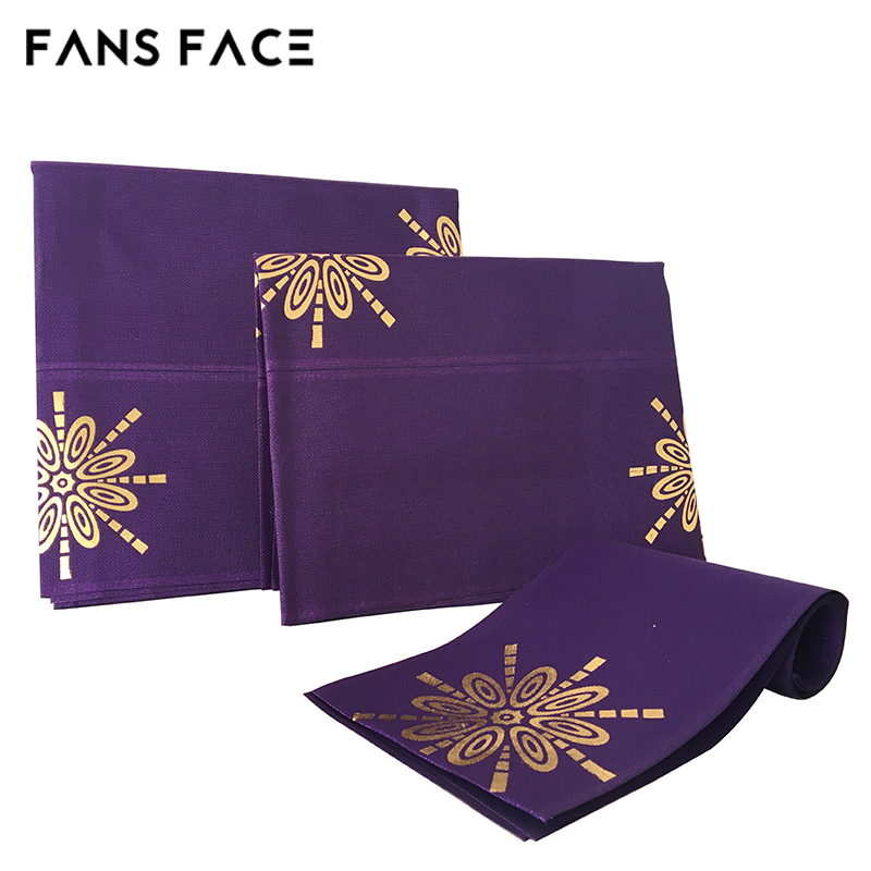 FANS FACE African Headtie Nigeria Aso Oke Designs Headtie For Wedding Headwear For Women Noble Traditional African Clothing<br>