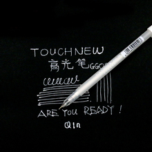TouchNew 0.8mm Fine Point Markers Graffiti Pen On Black Paper White Ink Manga Markers for drawing As Good As Sakura Highlighters