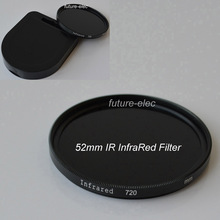 52 52mm IR Infrared Infra-Red Filter 720 nm For Nikon D60 D70 D70S D80 D90 D300 D600 D610 D700 D700S D750 D800 D800E Camera Lens