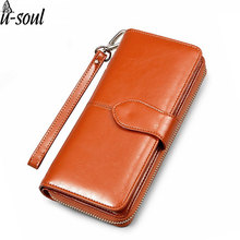 Luxurious Long Design Wallets Fashion Style Female Purse 2017 New Wallet Women Famous Brands Lady Purse Wallet PU Leather C2052K(China)