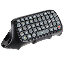 High Quality New Black Wireless Chatpad Messenger Keyboard Keypad for XBOX 360 Controller(China)