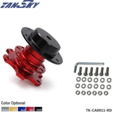 Tansky 70mm Racing Quick Release Adapter Steering Wheel Hub Formular Car Boss Kit For Jeep Cherokee XJ 1984-2005 TK-CA0011-RD