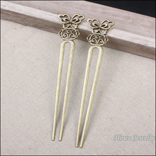 Wholesale 2 pcs high quality Antique bronze Bookmarks Pendant Zinc Alloy Metal DIY Bracelet Necklace Jewelry Accessories(China)