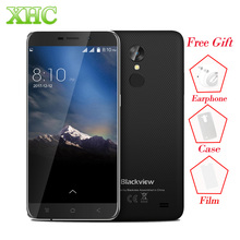 WCDMA 3G Blackview A10 5.0 inch Cellphones RAM 2GB ROM 16GB Android 7.0 1280 x 720 MTK6580A Quad Core Dual SIM OTA Mobile Phones(China)