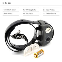 Small dog bark collars anti no bark control electric pet trainer collar automatic shock  for your puppy lovely