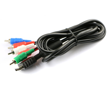 50pcs/lot HIGH QUALITY NEW HD Component AV Video-Audio Cable Cord for SONY Playstation 2 3 PS2 PS3 Slim(China)