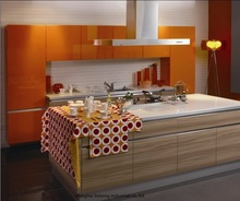 melamine/mfc kitchen cabinets(LH-ME023)(China)