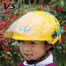 Unisex  Abs half face motorcycle children helmet ,pink red blue yellow motorbike moto motocross Kids Helmet