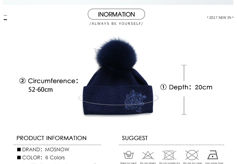 winter hats for women MZ713B (3)