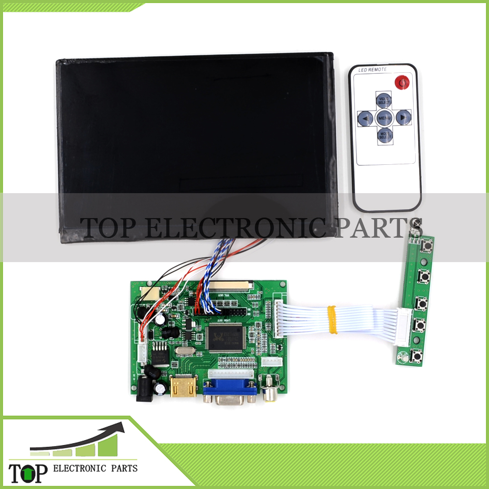 Original NEW 7 inch 1280 800 2VA HDMI VGA Screen Dispaly LCD Panel Module Raspberry Pi IPS Without Touchscreen lcd(China (Mainland))