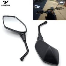 8 10 mm Side Mirror Motorbike Mirrors Scooter Motorcycle Mirror For Yamaha MT 03 07 MT03 YZF R3 R6 R125 T MAX TMAX 530 500 XMAX(China)