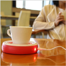 New USB ABS Heat Warmer Heater Cookies for Milk Tea Coffee Mug Hot Drinks Beverage Cup for Winter Office home Nov9